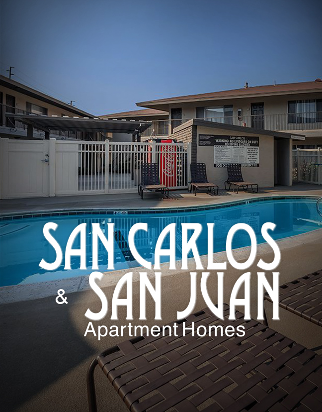 San Carlos and San Juan Apartment Homes Property Photo